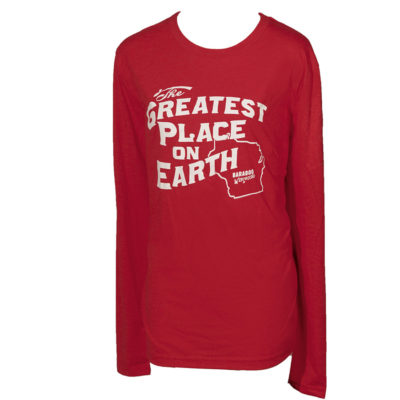 Classic Long Sleeve Tri Blend Greatest Place on Earth Shirt