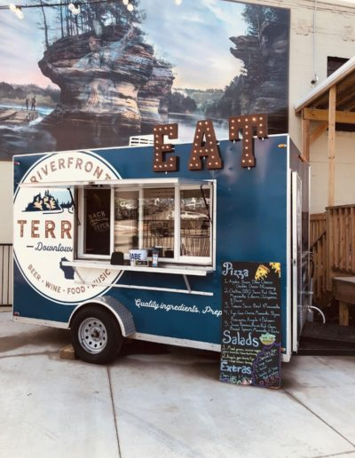 Riverfront Terrace Food Cart