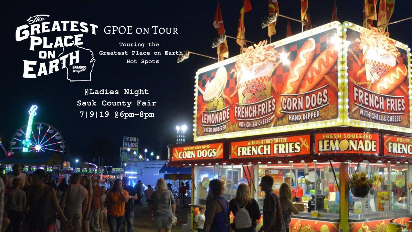 Sauk County Fair Ladies Night