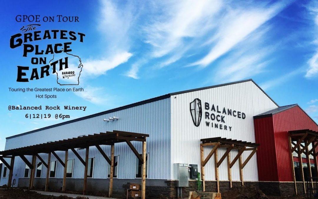 GPOE on Tour Balanced Rock Winery