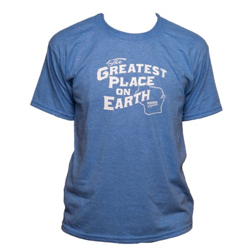 Greatest Place on Earth Youth Blue color