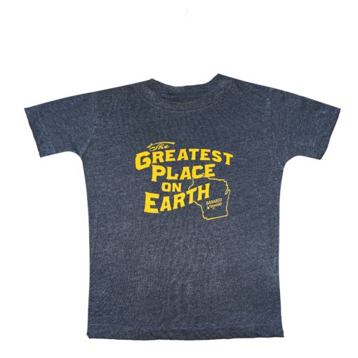 blue and gold t shirt youth