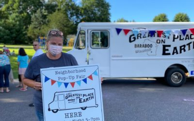 Baraboo's First Neighborhood Pop-Up Fair