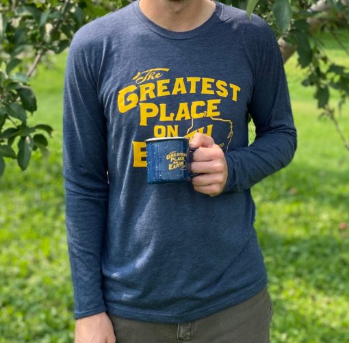 Blue and Gold long sleeve