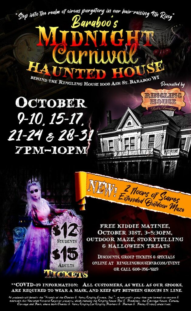 ringling bed and breakfast haunted house