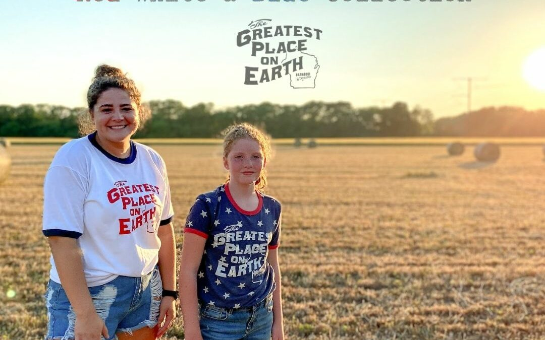 The Greatest Place on Earth | Red White and Blue Collection