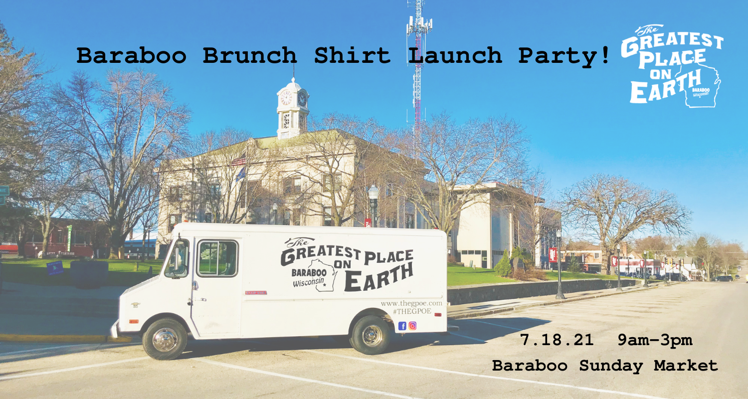 brunch shirts baraboo greatest place on earth